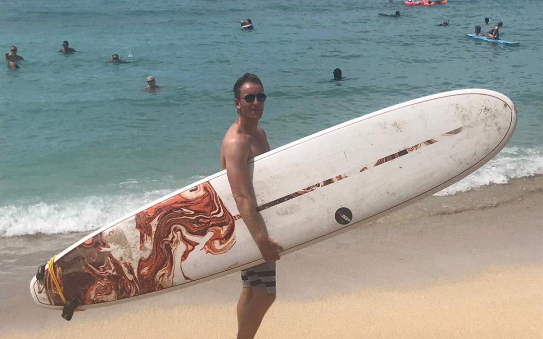 vakantie surf foto Hawaii